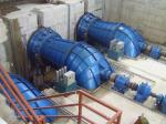 High Efficiency Tubular Unit Hydro Power Turbine, Shaft - Extension Type Tubular Turbines