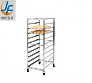 China High Single Side SS Bakery Rack Trolley Restaurant Kitchen Equipment on sale
