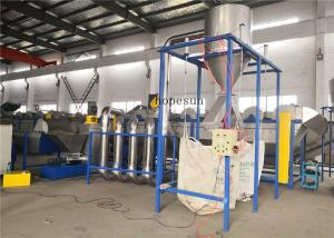 China Automatic Pet Bottle Washing Line SUS304 Stainless Steel Material 3000kg/H on sale