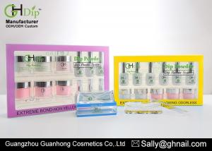 China Fast Dipping 2 Oz Nail Starter Kit Products Air Dry Gel Powder Nail Kit Non - Yellowing on sale