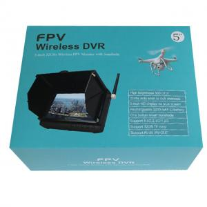 China 5.8GHz 32CHS 5inch Wireless Mini Monitor DVR With Sun Shield on sale