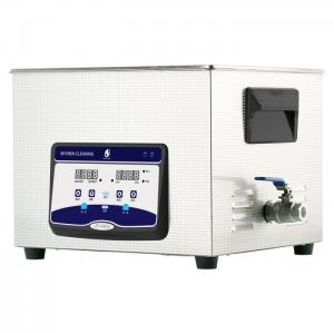 China Medical Benchtop Ultrasonic Cleaner Removing Biological Fluids From Laboratory Glassware on sale