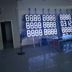 Outdoor 8888 8waterproof gas station led price sign shenzhen manufacture