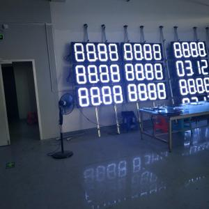 China 12inch 18inch19inch4 digit led 7 segment led display 6 digits 7 segments led number display on sale