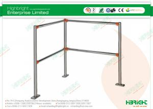China High Quality Stainless Steel Supermarket Swing Gate Post Pole HBE-AC-13 on sale