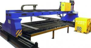 China Fast Speed CNC Flame Plasma Cutting Machine High Cutting Precision Good Rigidity on sale
