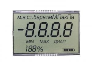 China Digit TN LCD Display , Ultra Low Power LCD Display Module ISO9001 on sale