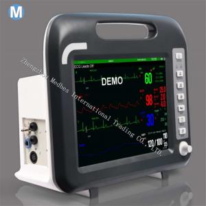 China Medical Equipments Multi-Parameter 12 Inch Touch Screen ECG Multi-Parameter Patient Monitor on sale