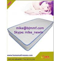 low price PU foam White surface fabric mattress