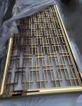 Rose Gold Metal Laser Cut Panels For Garden Fence Privacy Fence Metal Fence