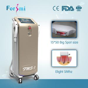 China 690nm/560nm Intense pulsed light hair removal laser shr ipl machines for sale on sale