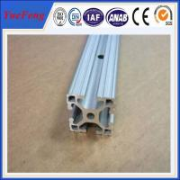 customized aluminium channel extrusion, 45x45 quality aluminum profile china supplier