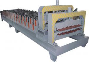China Rollo esmaltado tejado automático de la teja que forma la máquina con el control informático del PLC de PANASONIC on sale