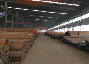 China WB36 Black Painting Alloy Steel Seamless Pipes , Hot Rolled Square Tube on sale