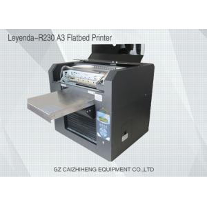 China Multi Functional Mini Flatbed UV Printing Machine Small Format For Metal Printing on sale