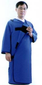 China Medical radial X-ray Lead apron 0.5mmpb,Full sleeve protective apron B model protective on sale