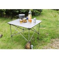 China Metal Fold Away Modern Furniture Table For Picnic / Outdoors Aluminum Patio Sets on sale