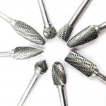 YG8 Customized Tungsten Carbide Burr Bits Metal Removal Carbide Burrs
