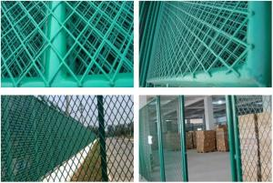 China Powder Coated Stainless Steel Expanded Metal Mesh For Fence 0.30-5.0mm Thickness on sale