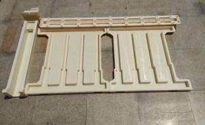 China ABS Plastic Concrete Fence Post Moulds For High Bridge And High Speed Rail Side Fence on sale