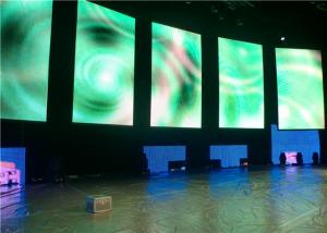 China CE / ROHS Die Cast Aluminum Indoor Stage LED Display Full Color on sale