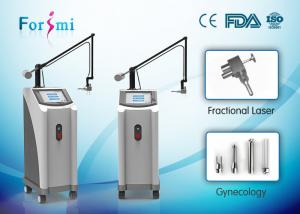 China Good effects facial skin tightening 10600 nm wavelength 360 degree scanning ability co2 laser price on sale
