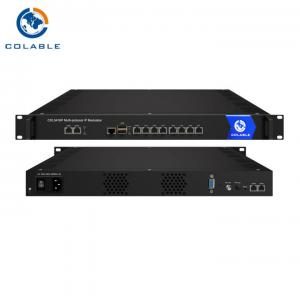 China Multi Protocol IP to RF (DVB-C DVB-T ISDB-T) Converter Modulator COL5416P on sale