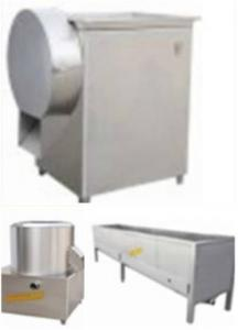 China 50kg / Hour Food Engineering Projects Potato Chips Production Line on sale