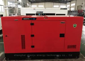 China 150KVA 120KW Portable Silent Diesel Generators Low Noise Low Fuel on sale