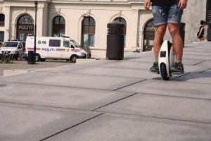 China High-Tech Portable Gyroscopic electric balancing unicycle wheelbarrow monocycle on sale