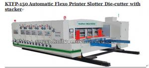 China Automatic Flexo Printer Slotter Die-cutter with stacker on sale