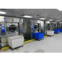 Automatic Commercial Cloth Stainless steel 304 Washing Machine Tilting Laundry Washer Extractor