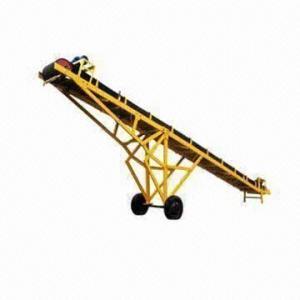 China Iron Ore Dressing Equipment/Belt Conveyor, Solid and Adjustable Mining Using Belt Conveyor on sale