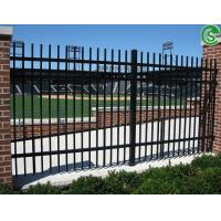 Assisted Living Facilities Fencing Decorative Wrought Iron Fence With Bending Top