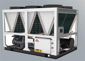 China Hotel Commercial Air Source Heat Pump Easy Installation White 9.8Kw 45℃ on sale