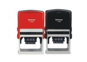 China Square 50x30mmFactory Denasow Self inking stamp office use stamp rubber stamp Square/Rectangle 50x30MM Clear Stamps on sale