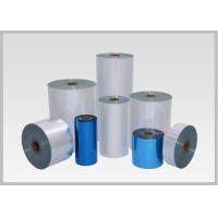 China 50mic Single Layer PVC Heat Shrink Film, Flexible Pvc Film For Pocket Shrink Sleeve on sale