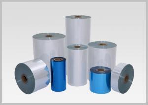 China 50mic Single Layer PVC Heat Shrink Film, Flexible Pvc Film For Pocket Shrink Sleeve on sale