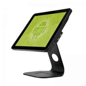 China Single 15 inch LCD Monitor Point of Sale Cash Register for small business retail vending Android POS terminal on sale