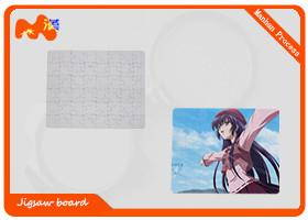 China ECO Friendly Sublimation Jigsaw Puzzles With Paper Material 20.3*25.4cm on sale