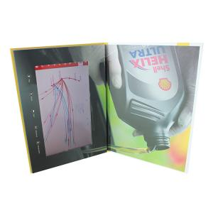 China Video IN Folder 10.1 inch 4GB memory video brochure card with touch screen  USB cable free provided on sale