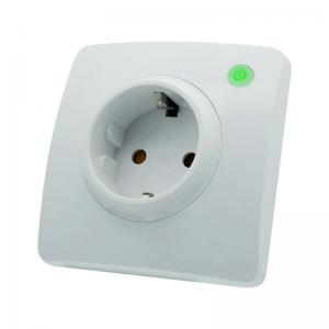 China EU Standard Smart Wifi Wall Socket Easy To Install , No Hub Required on sale