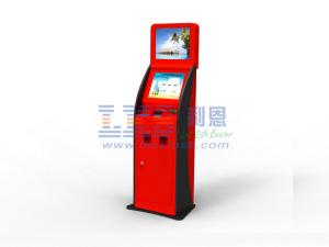China Touch Screen Free Standing Bill Payment Kiosk Banking Wifi Module on sale