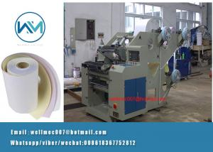 China 3ply/three roll Carbonless Paper NCR Roll Slitting Machine Manufacturer in China on sale