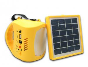 China 2015 New Solar Lamp With Solar Panel Portable Solar LED Lights Outdoor Charge Mobile Phone Camping and Fishing on sale