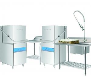 Quality Restaurant Grade Dishwasher1400H 650W 800D 107KG , Commercial Dishwashing Machine for sale