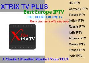 Xtrix tv Plus APK watch UK,DE,Italia,France,Greece Turkey