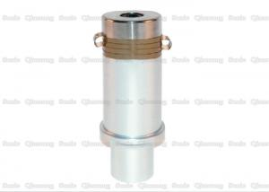 China Stepped Column 1200w Ultrasonic Piezoelectric Transducer , 24 Khz Ultrasonic Transducer  With 192mm Length on sale
