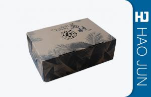 China Eco Friendly Corrugated Carton Box , Decorative Gift Boxes With Lids on sale