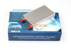 China Multifunctional 600MAh Li-ion Battery GPS Tracker Temperature Sensor on sale